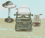 technology, CRM, filofax, notepad, smartphone, tablet, typewriter - they all can serve a purpose